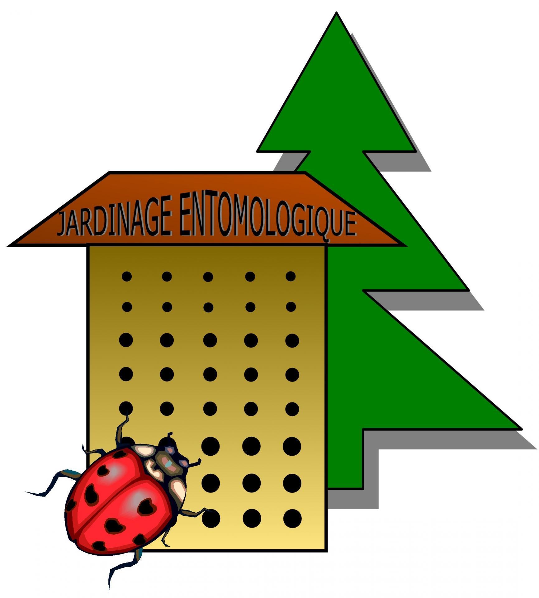 Logo jardinage entomologique
